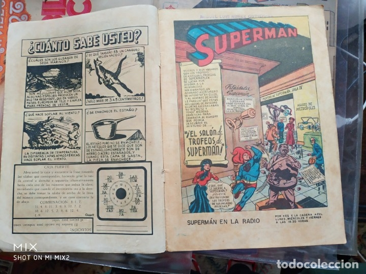 Tebeos: SUPERMAN NOVARO Año I Numero 9 - Foto 2 - 175408402