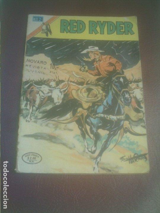 RED RYDER NOVARO SERIE AGUILA 353 (Tebeos y Comics - Novaro - Red Ryder)