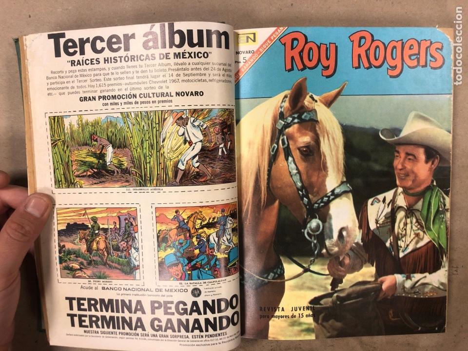 Tebeos: TOMO CON 14 TEBEOS NOVARO ENCUADERNADOS (4 HOPALONG CASSIDY, 4 ROY ROGERS y 6 GENE AUTRY). - Foto 4 - 175800972
