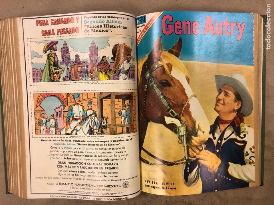 Tebeos: TOMO CON 14 TEBEOS NOVARO ENCUADERNADOS (4 HOPALONG CASSIDY, 4 ROY ROGERS y 6 GENE AUTRY). - Foto 11 - 175800972