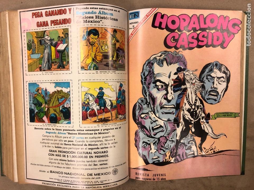 Tebeos: TOMO CON 14 TEBEOS NOVARO ENCUADERNADOS (4 HOPALONG CASSIDY, 4 ROY ROGERS y 6 GENE AUTRY). - Foto 13 - 175800972