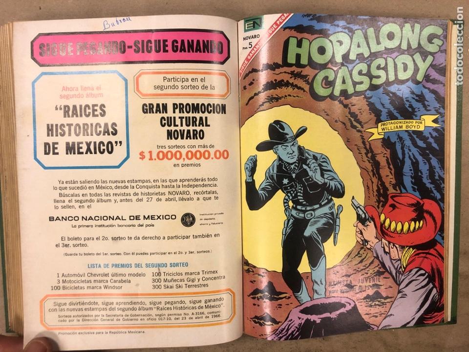 Tebeos: TOMO CON 14 TEBEOS NOVARO ENCUADERNADOS (4 HOPALONG CASSIDY, 4 ROY ROGERS y 6 GENE AUTRY). - Foto 14 - 175800972