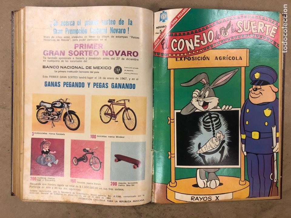 Tebeos: TOMO CON 13 TEBEOS ENCUADERNADOS (2 PORKY y 11 EL CONEJO DE LA SUERTE). NOVARO 1968 - Foto 13 - 175806653