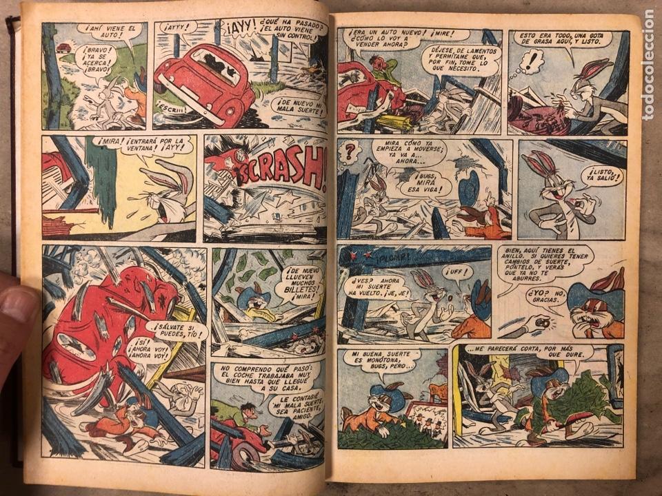 Tebeos: TOMO CON 12 TEBEOS EL CONEJO DE LA SUERTE (NOVARO 1968). ENCUADERNADOS. MUY BUEN ESTADO. - Foto 5 - 175807485