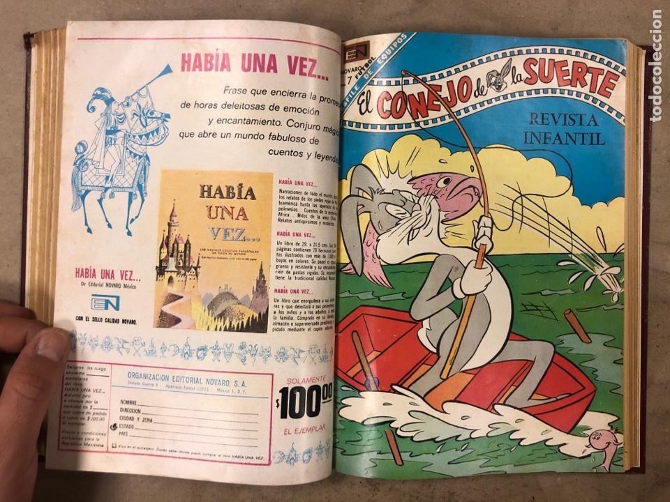 Tebeos: TOMO CON 12 TEBEOS EL CONEJO DE LA SUERTE (NOVARO 1968). ENCUADERNADOS. MUY BUEN ESTADO. - Foto 14 - 175807485