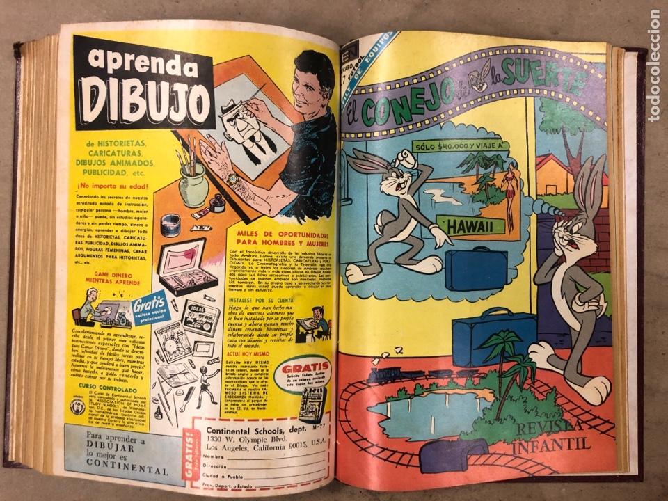 Tebeos: TOMO CON 12 TEBEOS EL CONEJO DE LA SUERTE (NOVARO 1968). ENCUADERNADOS. MUY BUEN ESTADO. - Foto 22 - 175807485