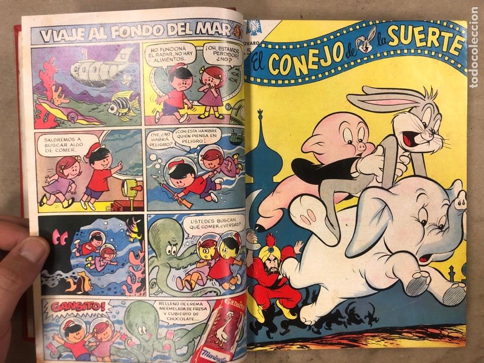 Tebeos: TOMO CON 17 TEBEOS ENCUADERNADOS (NOVARO 1965/66). 12 EL CONEJO DE LA SUERTE y 5 PORKY. - Foto 6 - 175809944