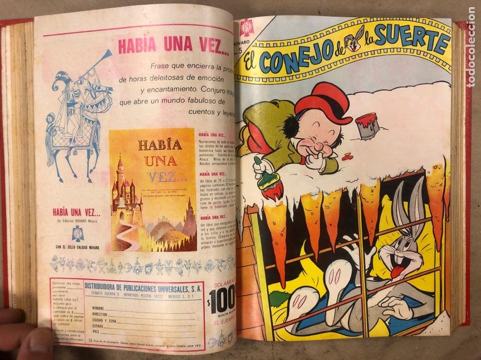 Tebeos: TOMO CON 17 TEBEOS ENCUADERNADOS (NOVARO 1965/66). 12 EL CONEJO DE LA SUERTE y 5 PORKY. - Foto 12 - 175809944