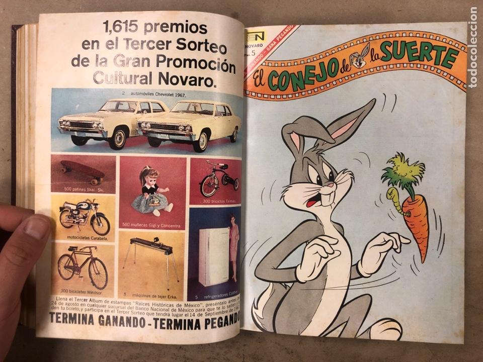 Tebeos: TOMO CON 15 TEBEOS ENCUADERNADOS (NOVARO 1967). 12 EL CONEJO DE LA SUERTE y 3 PORKY. - Foto 16 - 175810309