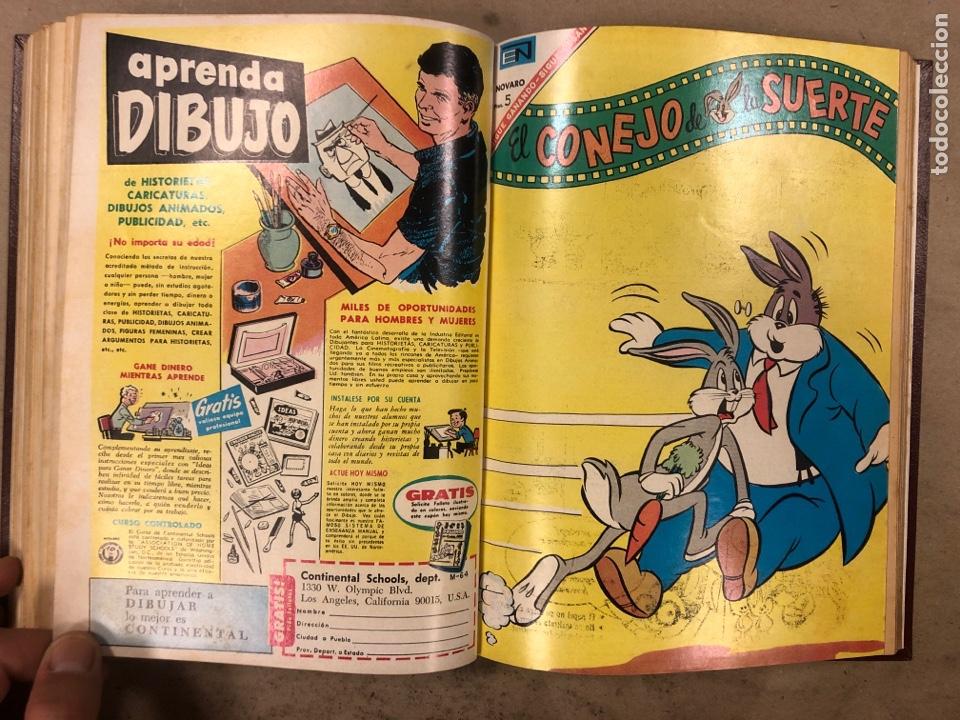 Tebeos: TOMO CON 15 TEBEOS ENCUADERNADOS (NOVARO 1967). 12 EL CONEJO DE LA SUERTE y 3 PORKY. - Foto 24 - 175810309