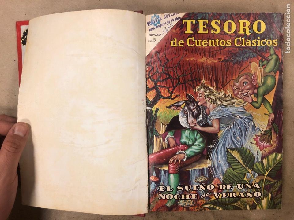 Tebeos: TESORO DE CUENTOS CLÁSICOS (NOVARO). TOMO CON 14 TEBEOS ENCUADERNADOS. EN MUY BUEN ESTADO. - Foto 2 - 175812249