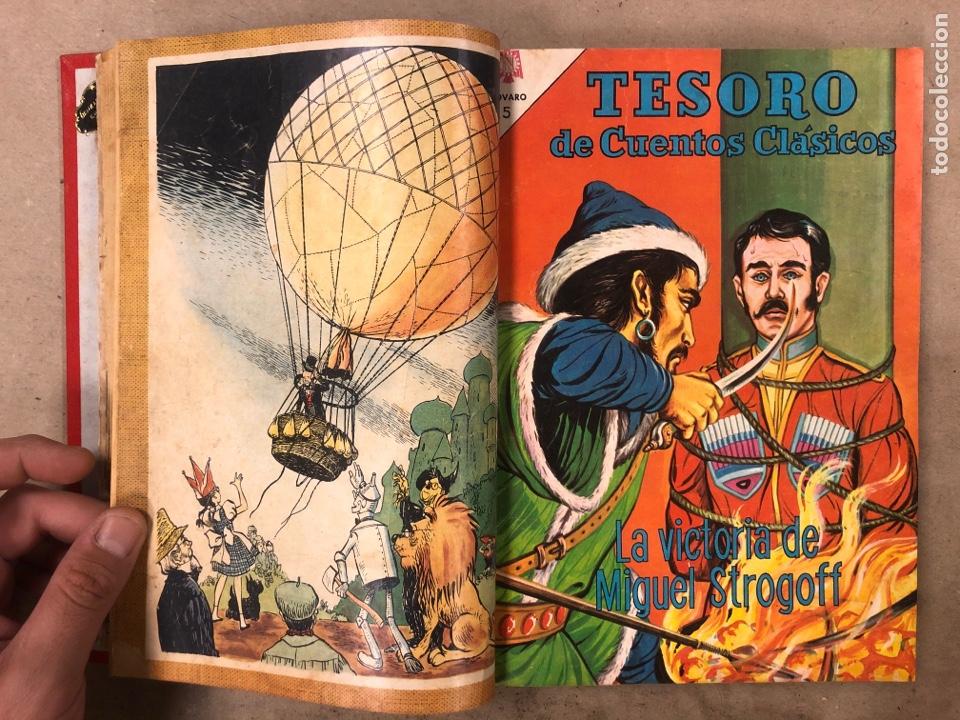 Tebeos: TESORO DE CUENTOS CLÁSICOS (NOVARO). TOMO CON 14 TEBEOS ENCUADERNADOS. EN MUY BUEN ESTADO. - Foto 6 - 175812249