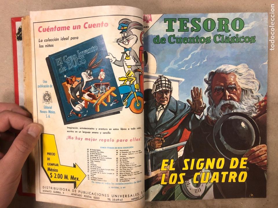 Tebeos: TESORO DE CUENTOS CLÁSICOS (NOVARO). TOMO CON 14 TEBEOS ENCUADERNADOS. EN MUY BUEN ESTADO. - Foto 8 - 175812249
