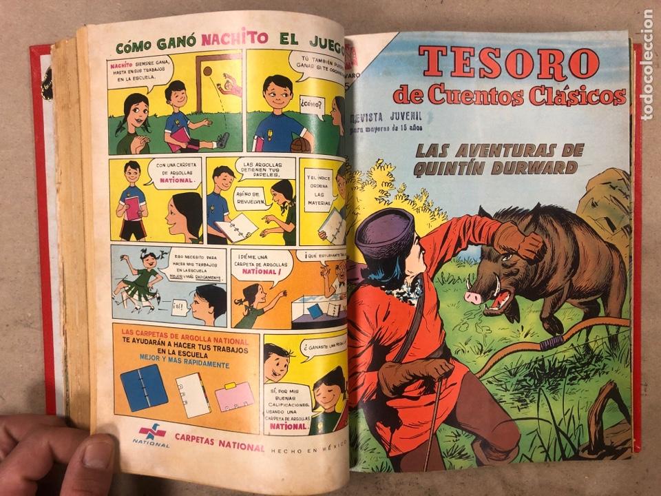 Tebeos: TESORO DE CUENTOS CLÁSICOS (NOVARO). TOMO CON 14 TEBEOS ENCUADERNADOS. EN MUY BUEN ESTADO. - Foto 10 - 175812249