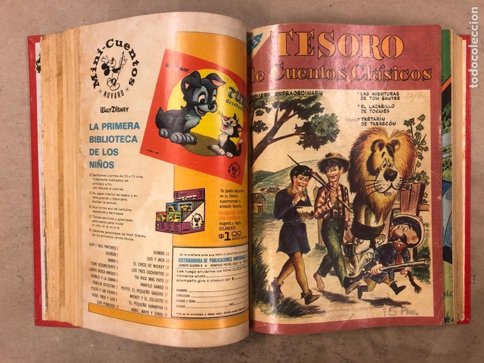 Tebeos: TESORO DE CUENTOS CLÁSICOS (NOVARO). TOMO CON 14 TEBEOS ENCUADERNADOS. EN MUY BUEN ESTADO. - Foto 12 - 175812249
