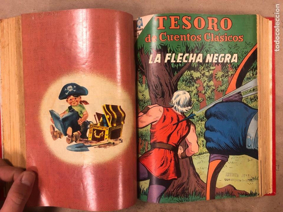 Tebeos: TESORO DE CUENTOS CLÁSICOS (NOVARO). TOMO CON 14 TEBEOS ENCUADERNADOS. EN MUY BUEN ESTADO. - Foto 14 - 175812249