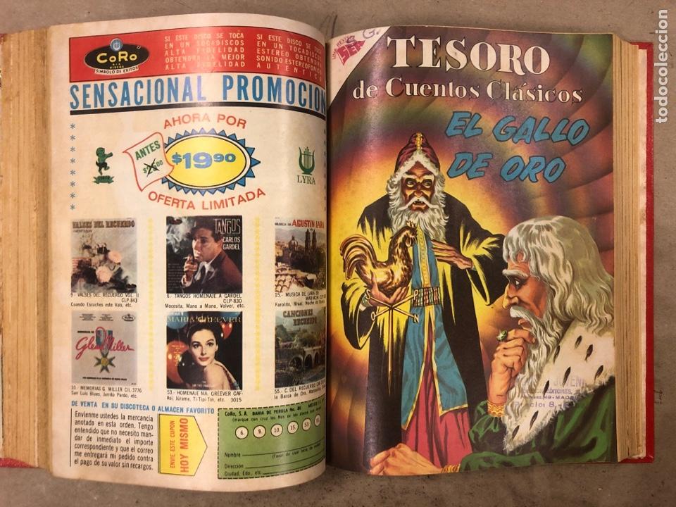 Tebeos: TESORO DE CUENTOS CLÁSICOS (NOVARO). TOMO CON 14 TEBEOS ENCUADERNADOS. EN MUY BUEN ESTADO. - Foto 16 - 175812249