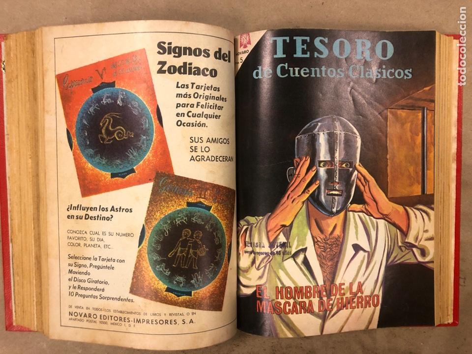 Tebeos: TESORO DE CUENTOS CLÁSICOS (NOVARO). TOMO CON 14 TEBEOS ENCUADERNADOS. EN MUY BUEN ESTADO. - Foto 18 - 175812249