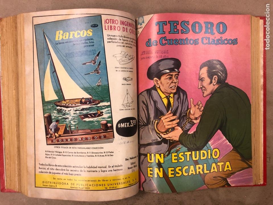 Tebeos: TESORO DE CUENTOS CLÁSICOS (NOVARO). TOMO CON 14 TEBEOS ENCUADERNADOS. EN MUY BUEN ESTADO. - Foto 20 - 175812249
