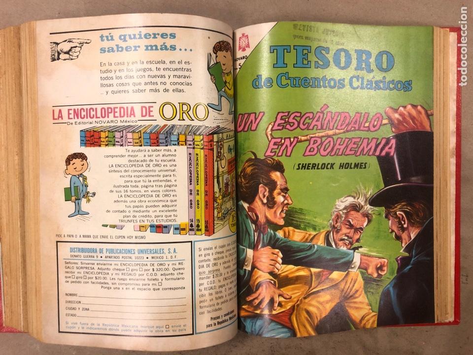 Tebeos: TESORO DE CUENTOS CLÁSICOS (NOVARO). TOMO CON 14 TEBEOS ENCUADERNADOS. EN MUY BUEN ESTADO. - Foto 22 - 175812249