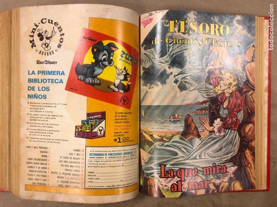 Tebeos: TESORO DE CUENTOS CLÁSICOS (NOVARO). TOMO CON 14 TEBEOS ENCUADERNADOS. EN MUY BUEN ESTADO. - Foto 24 - 175812249