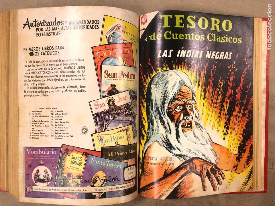 Tebeos: TESORO DE CUENTOS CLÁSICOS (NOVARO). TOMO CON 14 TEBEOS ENCUADERNADOS. EN MUY BUEN ESTADO. - Foto 26 - 175812249
