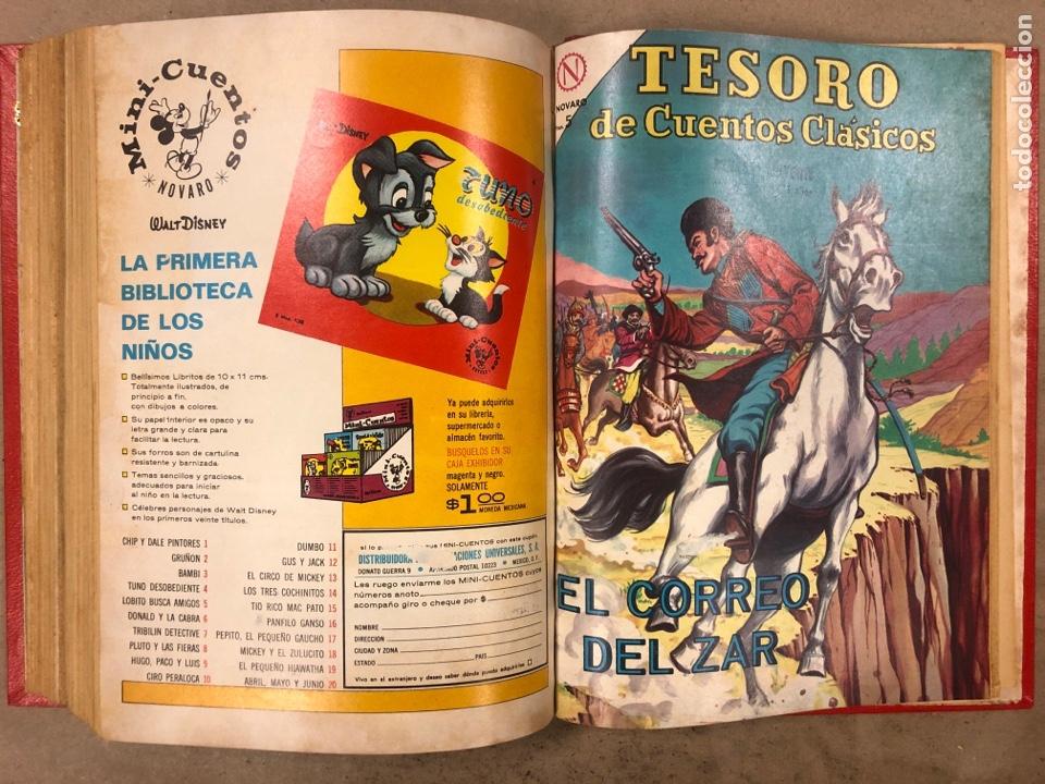 Tebeos: TESORO DE CUENTOS CLÁSICOS (NOVARO). TOMO CON 14 TEBEOS ENCUADERNADOS. EN MUY BUEN ESTADO. - Foto 28 - 175812249