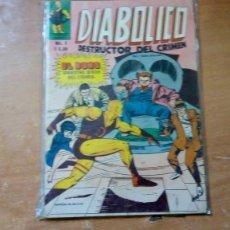 Tebeos: DIABOLICO N. 3 EDIC.NOVEDADES TIPO LA PRENSA MEXICANA , DAREDEVIL MARVEL. Lote 183217870