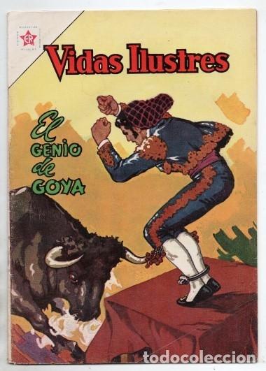 VIDAS ILUSTRES # 93 NOVARO 1963 FRANCISCO DE GOYA Y LUCIENTES EL GENIO EXCELENTE ESTADO (Tebeos y Comics - Novaro - Vidas ilustres)
