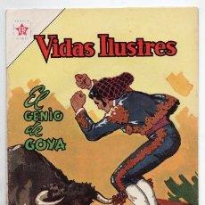 Tebeos: VIDAS ILUSTRES # 93 NOVARO 1963 FRANCISCO DE GOYA Y LUCIENTES EL GENIO EXCELENTE ESTADO. Lote 175842822