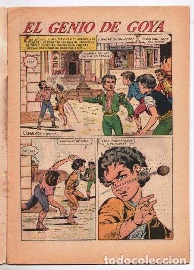 Tebeos: VIDAS ILUSTRES # 93 NOVARO 1963 FRANCISCO DE GOYA Y LUCIENTES EL GENIO EXCELENTE ESTADO - Foto 2 - 175842822