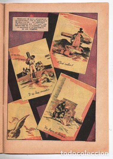 Tebeos: VIDAS ILUSTRES # 93 NOVARO 1963 FRANCISCO DE GOYA Y LUCIENTES EL GENIO EXCELENTE ESTADO - Foto 3 - 175842822
