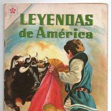 Tebeos: LEYENDAS DE AMERICA # 73 NOVARO 1962 VALOR A PRUEBA LEYENDA MEXICANA BUEN ESTADO. Lote 175875962