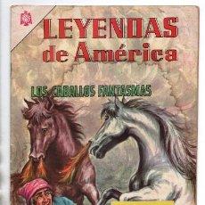 Tebeos: LEYENDAS DE AMERICA # 125 NOVARO 1966 LOS CABALLOS FANTASMAS LEYENDA BRASILEÑA BUEN ESTADO. Lote 175878155