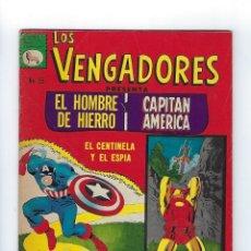 Tebeos: LOS VENGADORES: MARVEL - Nº 55, JUNIO 3 DE 1967 ** EDITORA DE PERIÓDICOS, S.C.L,. LA PRENSA **. Lote 175965945