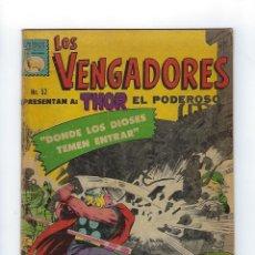 Tebeos: LOS VENGADORES: MARVEL - Nº 52, MAYO 13 DE 1967 ** EDITORA DE PERIÓDICOS, S.C.L,. LA PRENSA **. Lote 175966730