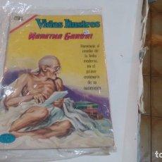 Tebeos: VIDAS ILUSTRES - NUMERO ESPECIAL - MAHATMA GANDHI -. Lote 175979960