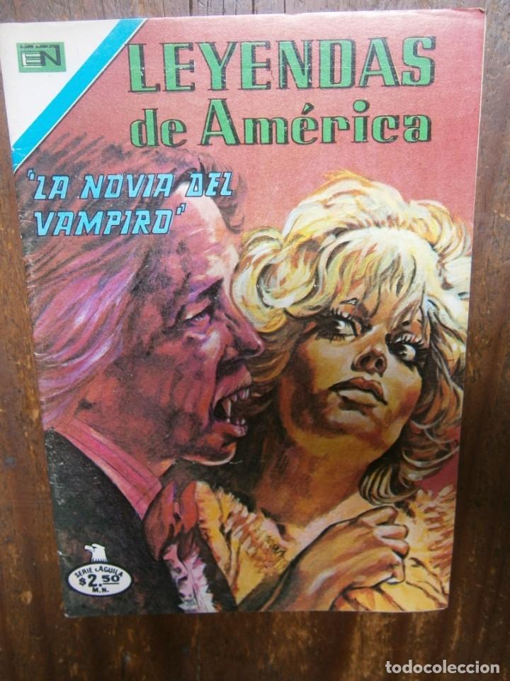LEYENDAS DE AMERICA # 352 EDITORIAL NOVARO SERIE AGUILA MEXICO 1979 (Tebeos y Comics - Novaro - Otros)