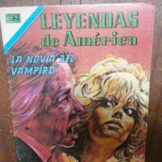 BDs: LEYENDAS DE AMERICA # 352 EDITORIAL NOVARO SERIE AGUILA MEXICO 1979. Lote 176002963