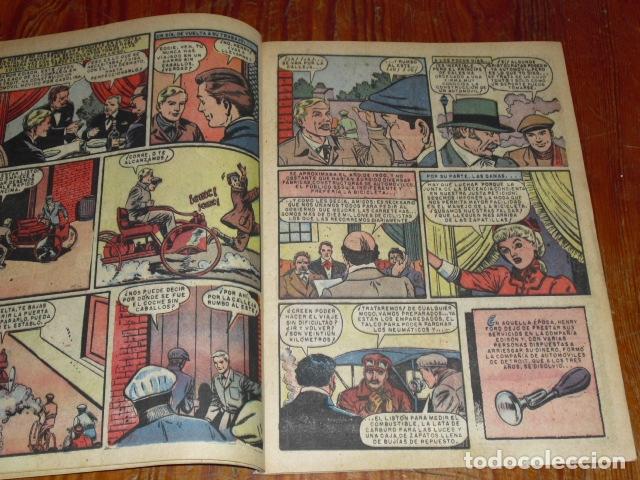 Tebeos: HISTORIA DE HENRY FORD - NOVARO VIDAS ILUSTRES Nº 32 - 1958 - - Foto 4 - 176005179