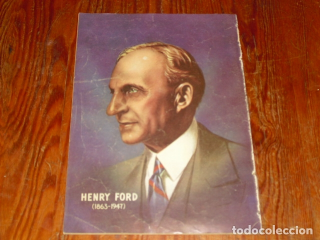 Tebeos: HISTORIA DE HENRY FORD - NOVARO VIDAS ILUSTRES Nº 32 - 1958 - - Foto 8 - 176005179