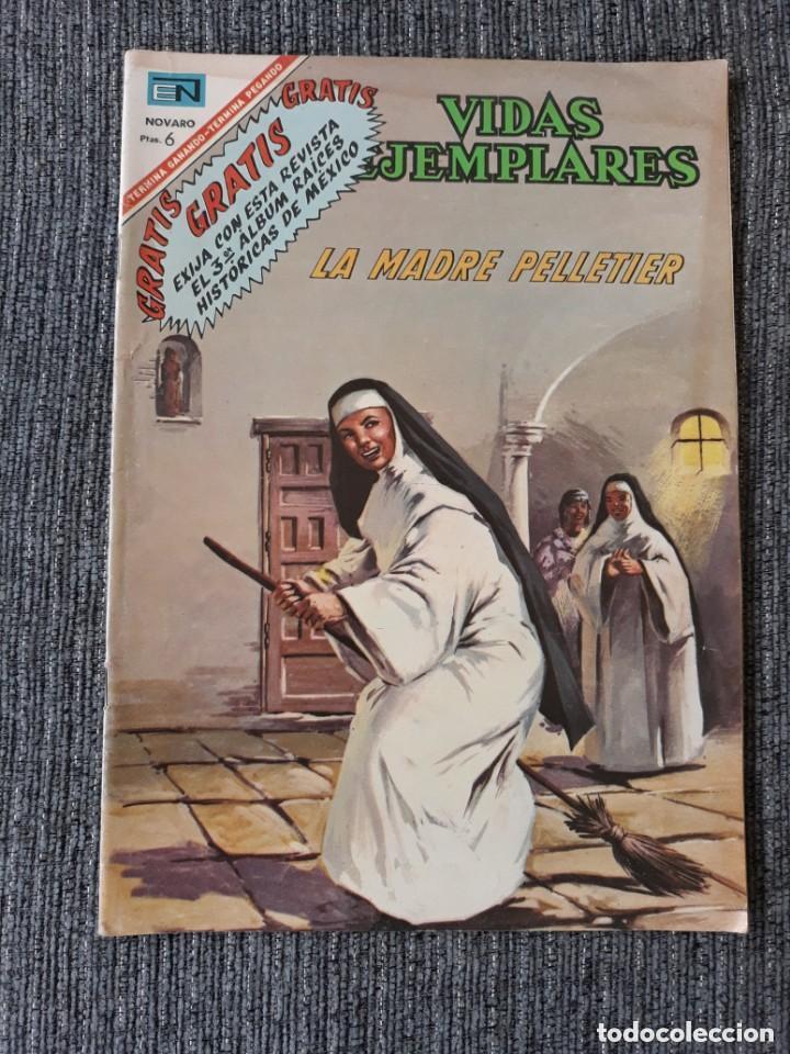 VIDAS EJEMPLARES Nº 246 : LA MADRE PELLETIER (NOVARO) AÑO 1967 (Tebeos y Comics - Novaro - Vidas ejemplares)