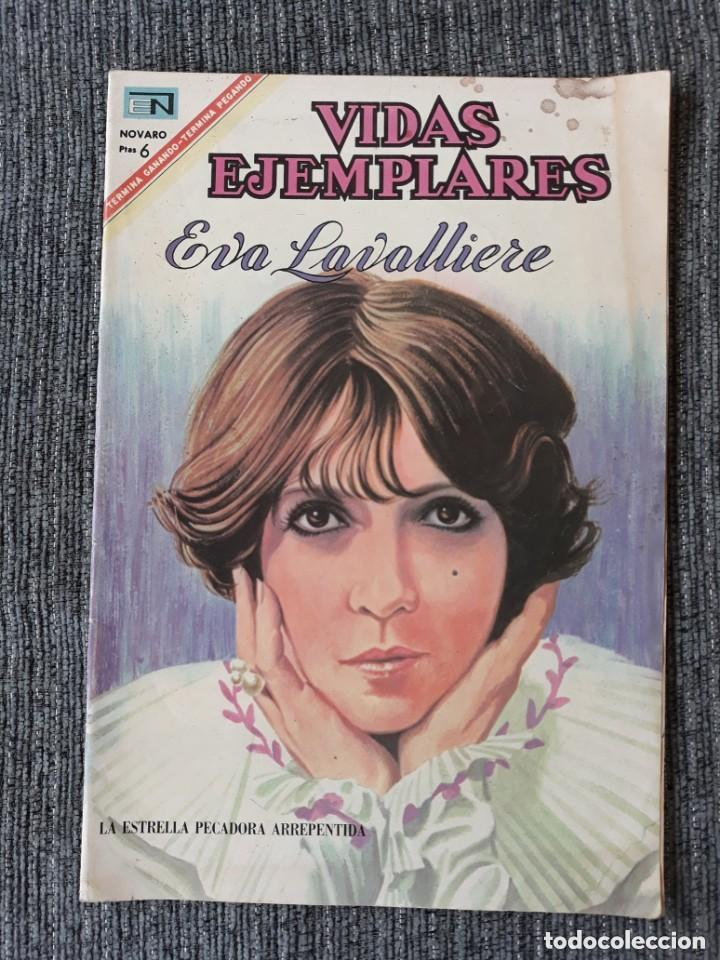 VIDAS EJEMPLARES Nº 251 : EVA LAVALLIERE (NOVARO) AÑO 1967 (Tebeos y Comics - Novaro - Vidas ejemplares)