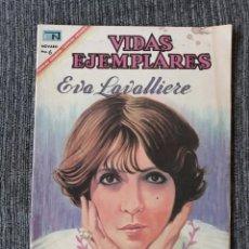 Tebeos: VIDAS EJEMPLARES Nº 251 : EVA LAVALLIERE (NOVARO) AÑO 1967. Lote 176005807