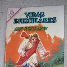 Tebeos: VIDAS EJEMPLARES Nº 219 : SAN PANTALEON. (NOVARO) AÑO 1966. Lote 176006335