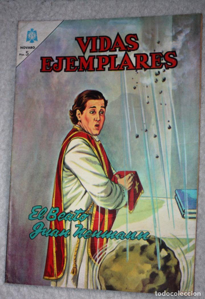 VIDAS EJEMPLARES Nº 184 : EL BEATO JUAN NEUMANN. (NOVARO) AÑO 1964 (Tebeos y Comics - Novaro - Vidas ejemplares)