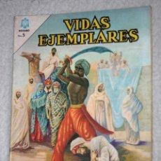 Tebeos: VIDAS EJEMPLARES Nº 197 : SAN JUAN DE BRITO. (NOVARO) AÑO 1965. Lote 176007912
