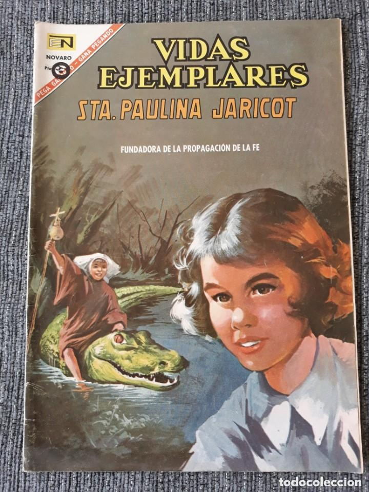 VIDAS EJEMPLARES Nº 237 : SANTA PAULINA JARICOT. (NOVARO) AÑO 1967 (Tebeos y Comics - Novaro - Vidas ejemplares)