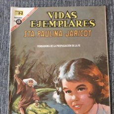 Tebeos: VIDAS EJEMPLARES Nº 237 : SANTA PAULINA JARICOT. (NOVARO) AÑO 1967. Lote 176008610