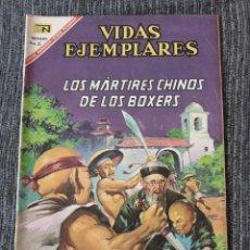 Tebeos: VIDAS EJEMPLARES Nº 243 : LOS MARTIRES CHINOS DE LOS BOXERS. (NOVARO) AÑO 1967. Lote 176008910